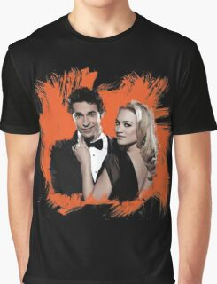 Chuck & Sarah Graphic T-Shirt