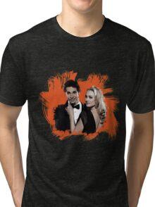 Chuck & Sarah Tri-blend T-Shirt