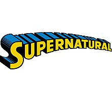 Supernatural superman Photographic Print