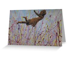 Field Of Dreams by Donna Williams Greeting Card