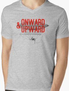 Onward And Upward Mens V-Neck T-Shirt