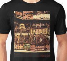 Egon Schiele Row of houses Unisex T-Shirt