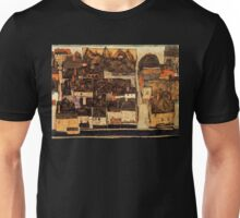 Egon Schiele Town from above Unisex T-Shirt
