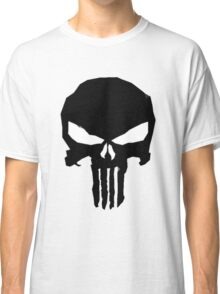 punisher low poly Classic T-Shirt