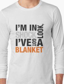 Sherlock blanket quote typography Long Sleeve T-Shirt