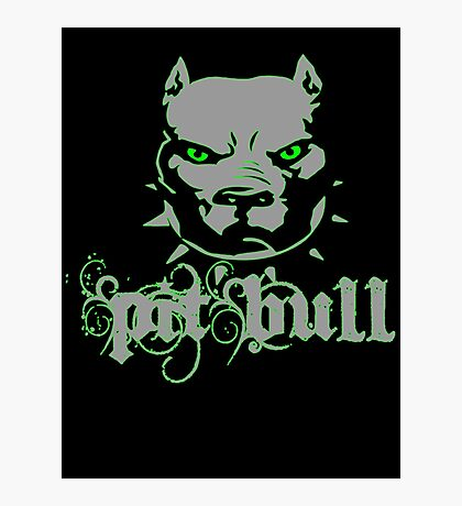 PitBull - Pit Bull Zombie Photographic Print