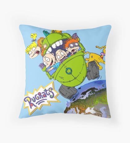 rugrats Throw Pillow