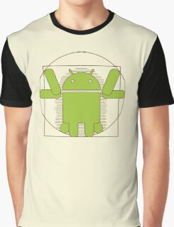 Vitruvian Android Graphic T-Shirt