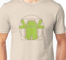 Vitruvian Android Unisex T-Shirt