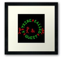 A Tribe Called Quest - Logo Framed Print