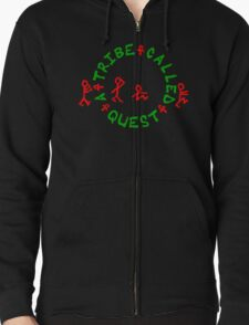 A Tribe Called Quest - Logo Zipped Hoodie