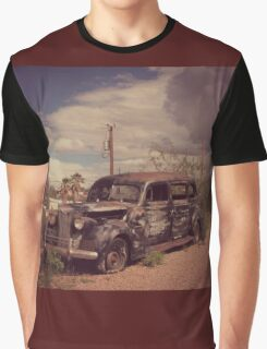 Dusty Old Hearse Graphic T-Shirt