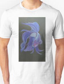 Siamese Fighting Fish Purple T-Shirt