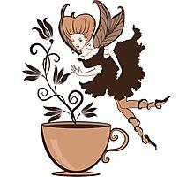 Coffee fairy Photographic Print