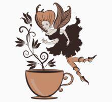 Coffee fairy Baby Tee