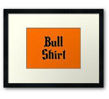 Bull Shirt – Lenny, The Simpsons, '70s Framed Print