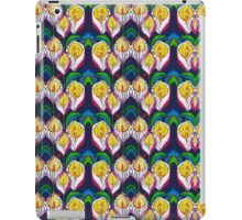 Transparent Lilies Dark Blue iPad Case/Skin