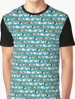 Poogie Pattern - Monster Hunter Design Graphic T-Shirt