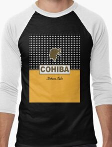 COHIBA Havana Cuba Cigar Men's Baseball ¾ T-Shirt