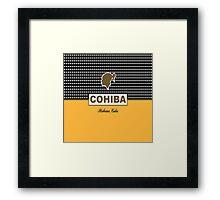 COHIBA Havana Cuba Cigar Framed Print