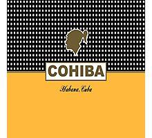 COHIBA Havana Cuba Cigar Photographic Print
