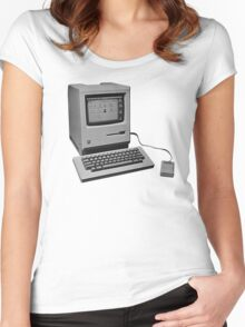 Mac Classic Women's Fitted Scoop T-Shirt