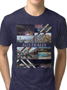 Australia T-Shirt Tri-blend T-Shirt