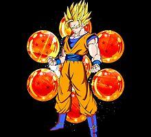 Dragon Ball Z - Goku Solo by J. Danion