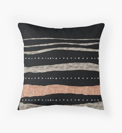 One step at a time II Throw Pillow