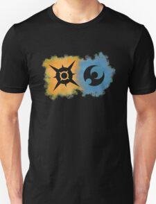 Pokemon Sun and Moon logos Unisex T-Shirt