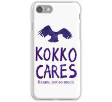 Kokko cares! V. 1 iPhone Case/Skin