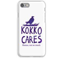 Kokko cares! V. 2 iPhone Case/Skin