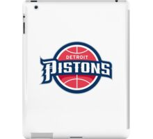 logo detroit pistons nba iPad Case/Skin