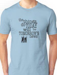 Tomorrow's News Unisex T-Shirt