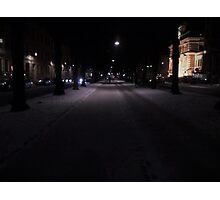 Walking Lights Photographic Print