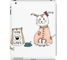 Cute Dog // ink + Marker iPad Case/Skin