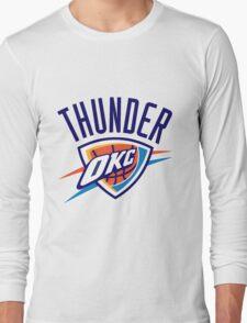 Oklahoma City Thunder logo Long Sleeve T-Shirt