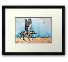 African Simurgh - AWD/Secretary bird Framed Print