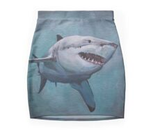 Great White Shark Mini Skirt