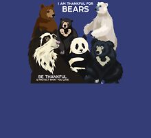 I Am Thankful For Bears Unisex T-Shirt