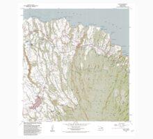 USGS TOPO Map Hawaii HI Haiku 349236 1983 24000 One Piece - Long Sleeve