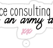 JOHNLOCK | All The Nice Consulting Detectives Love An Army Doctor Sticker