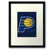 Indiana Pacers Framed Print