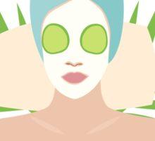 Masked Portrait Sticker