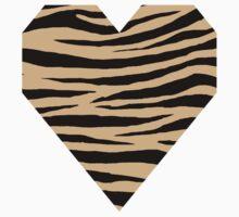 0492 Pale Gold Tiger Kids Tee