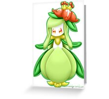 Pokemon - Lilligant Greeting Card