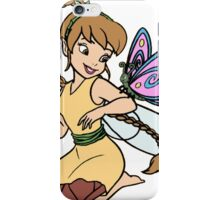 Fawn with a Fluttering Friend iPhone Case/Skin