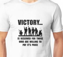 Victory Military Unisex T-Shirt
