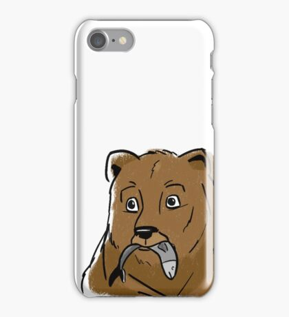 Hungry Bear iPhone Case/Skin