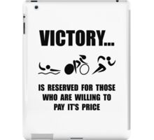 Victory Triathlon iPad Case/Skin